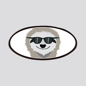 Sloth with sunglasses Patch