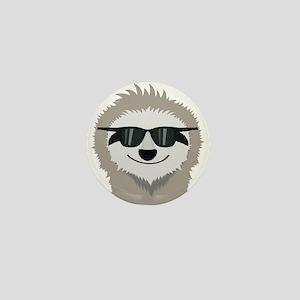 Sloth with sunglasses Mini Button