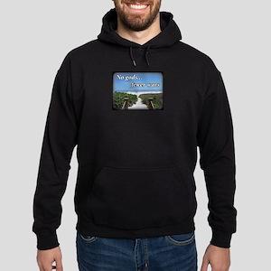 No gods... fewer wars Sweatshirt