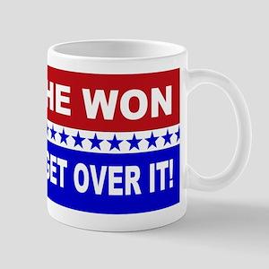 He Won Get Over It! Mug