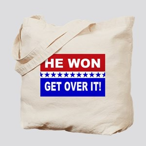 He Won Get Over It! Tote Bag