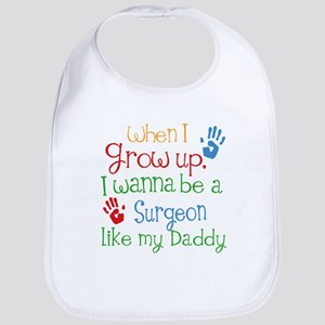 Surgeon Like Daddy Baby Bib