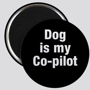 Dog Is My Co-Pilot Magnets