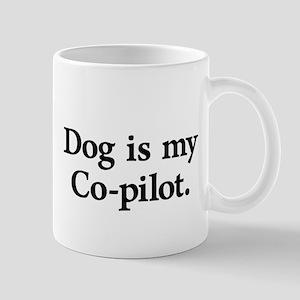 Dog Is My Co-Pilot Mug Mugs