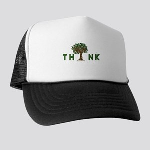 Cascade Creation Trucker Hat: Think Tree