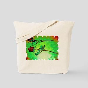 Cascade Creation Tote Bag: Roses