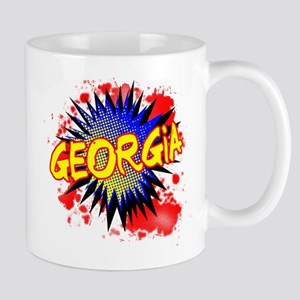 Georgia Comic Exclamation Mugs
