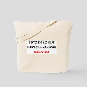 gran maestra Tote Bag
