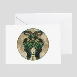 Howl Greeting Card