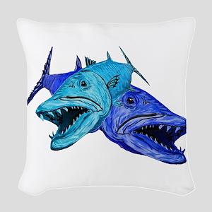 BARRACUDA Woven Throw Pillow