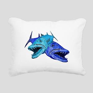 BARRACUDA Rectangular Canvas Pillow