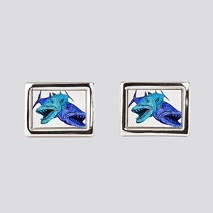 BARRACUDA Rectangular Cufflinks