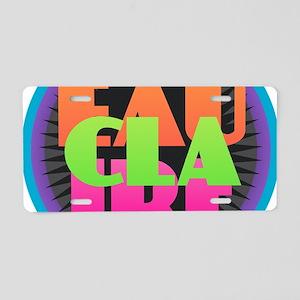 EAU CLAIRE Aluminum License Plate