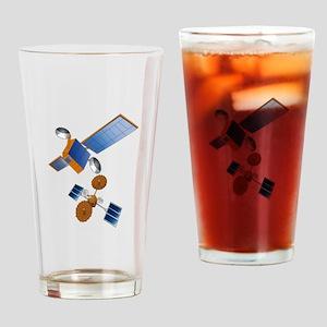 SATELLITES Drinking Glass