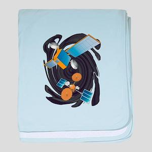 SATELLITE baby blanket