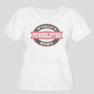 powerlifter Women's Plus Size Scoop Neck T-Shirt