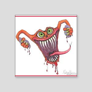 Angry Uterus Sticker
