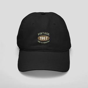 Vintage 1967 Birthday Black Cap