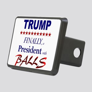 President Trump has balls Hitch Cover