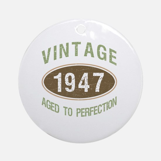 Cool 70th birthday Round Ornament