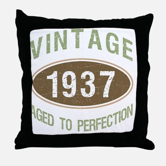 Cool 1937 Throw Pillow