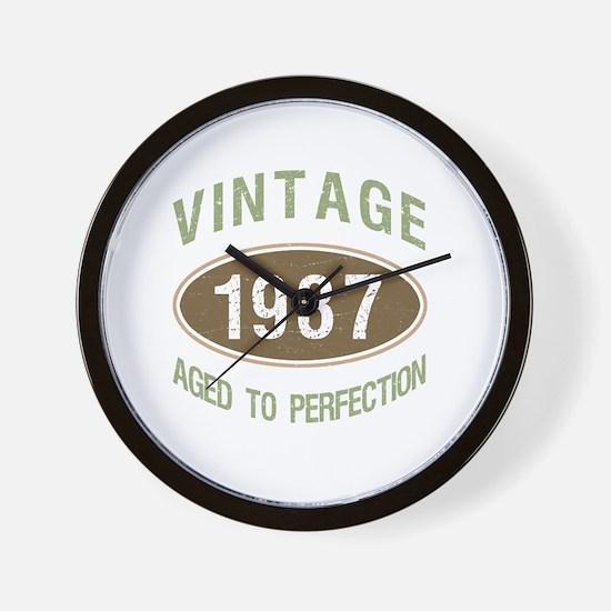 Unique 1937 Wall Clock