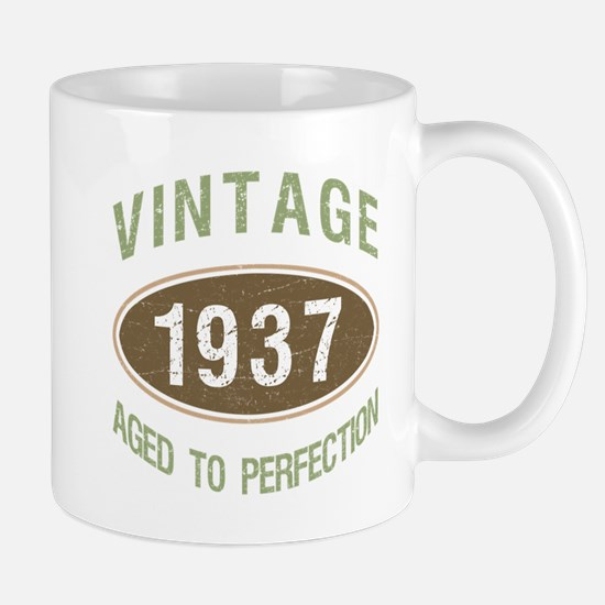 Vintage 1937 Birthday Mugs