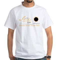 Men's White Round Neck T-Shirt