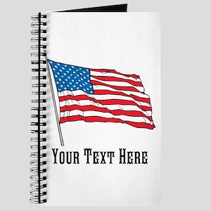 Custom US Flag Design Journal