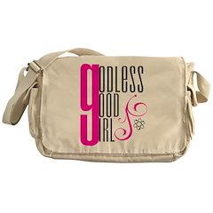 Godless Good Girl Messenger Bag