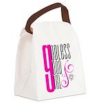 Godless Good Girl Canvas Lunch Bag