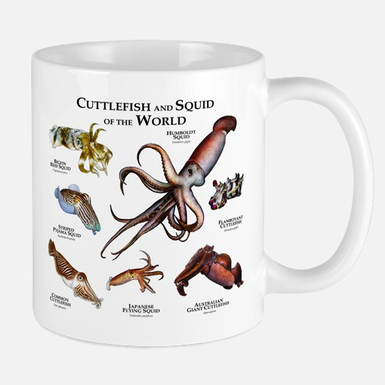 Cuttlefish & Squid of the World Mug