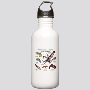 Cuttlefish & Squid of Stainless Water Bottle 1.0L