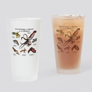 Cuttlefish & Squid of the World Drinking Glass