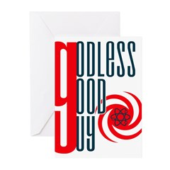 Godless Good Guy Greeting Cards