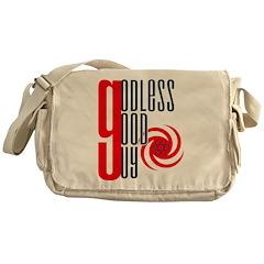Godless Good Guy Messenger Bag