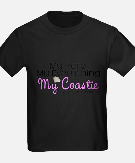 My Everything Coastie Sister T-Shirt