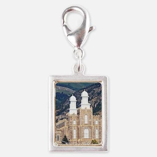 Cute Castles Silver Portrait Charm