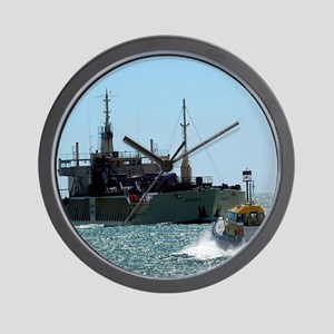 Maritime Meeting Wall Clock