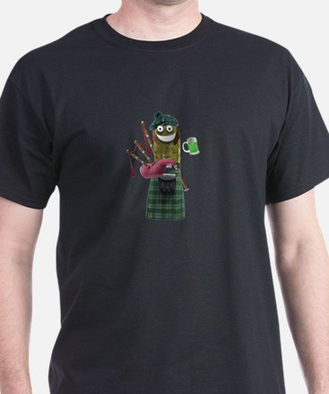 Bagpipe Pickle T-Shirt