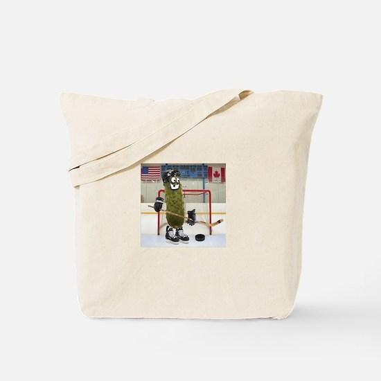 Hockey Pickle Tote Bag