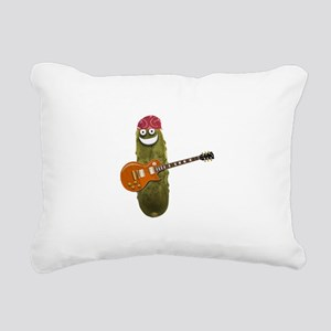 Rocker Pickle Rectangular Canvas Pillow