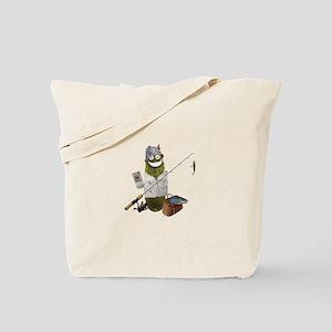 Fishing Pickle Tote Bag