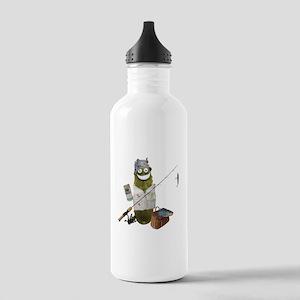 Fishing Pickle Water Bottle