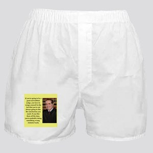 Antonin Scalia quote Boxer Shorts