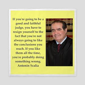 Antonin Scalia quote Queen Duvet