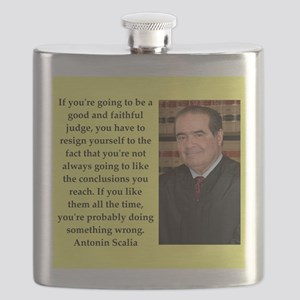 Antonin Scalia quote Flask