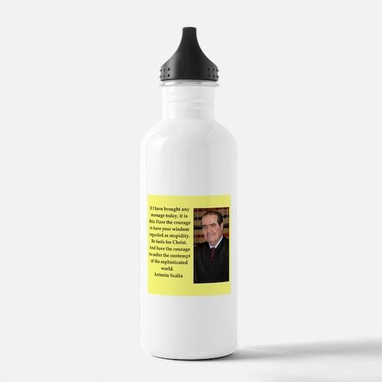 Antonin Scalia quote Water Bottle