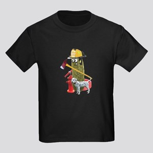 Fire Fighter Pickle T-Shirt