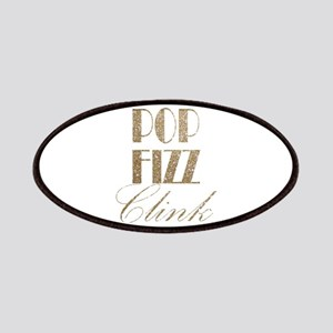 champagne pop fizz clink Patch